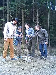四国初植樹 First tree planting in Shikoku