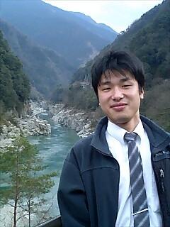 大歩危峡の大平さん Ohira-san from Ohboke