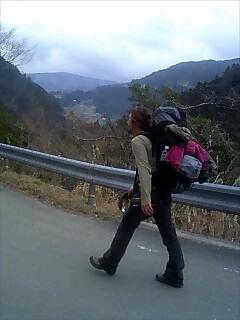 四国山脈、奥へ Deep ihto Shikoku mountain range