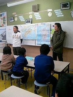 東祖谷町落合小学校 Ochiai elementary school, higashi iya town