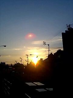 四国最後の朝日 Last sun rise in Shikoku
