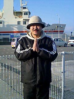 ナマステゲストハウスのマコトさん Makoto-san from Namasute guest house