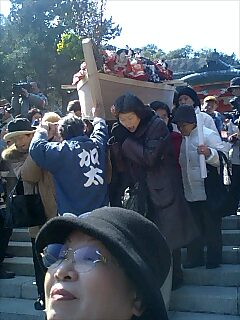 和歌山県加太、淡島神社の雛祭り Girl's day at Awashima shrine in Kada town Wakayama