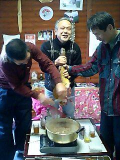 猪鍋 Wild boar stew