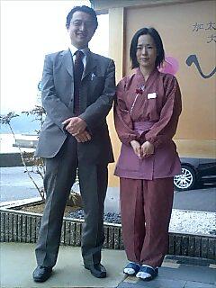 加太の利光さんご夫婦 Ricoo-san couple from Kada