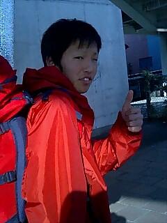 遼くん名古屋に旅立つ Ryo-kun leaving to Nagoya