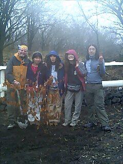 フェアリーテールで植樹 Tree planting at Fairytale