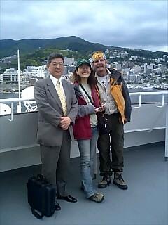 後藤先生を訪ねて Visiting teacher Goto
