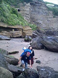 洞窟キャンプ cave camp