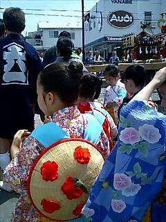 鎌倉由比ヶ浜のお祭り Festival in Kamakura