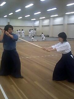 大阪にて柳生新陰流の稽古に参加 Joined lesson of Yagyu shinkage school