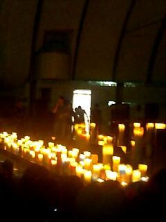 代々木公園キャンドルナイト Candle night at Yoyogi park