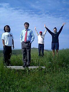 日本北限の岬にて North end cape of Japan