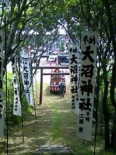 礼文島のお祭り festival of Lebun island
