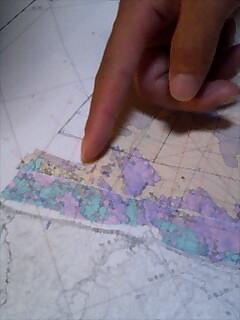 海底の地図 sea bottom map