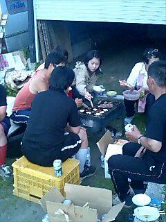 長田牧場の皆様とバーベキュー BBQ with Osada farm people