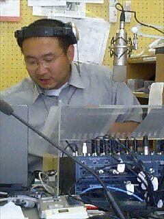 ラジオテッシの我孫子さん Abiko-san from Air Tessi