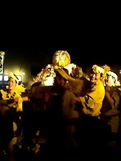 層雲峡火祭り fire festival at Soun gourge