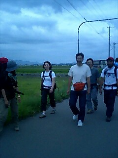 六人で歩く Walk with 6 of us