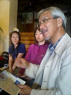 NPOシンラの藤崎さんと網走市議会議員の高谷さんを訪問 Visiting Fujisaki-san and Takaya-san