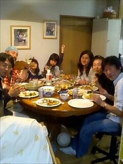 ブッシュピッグ宅の夕食会 dinner party at bush pig house