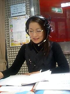 コミュニティーラジオに出演 community radio