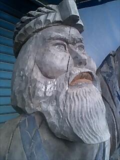 二風谷に来ました。Came to Nibutani