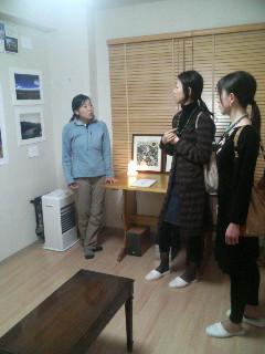 札幌にてアースデイ・アート展 earthday art at Idea works