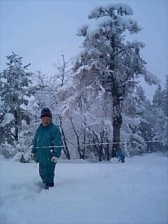 初雪 first snow