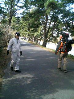 出逢い、出逢い、良縁の旅は続く。。松島に到着。