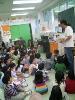 西鎌倉幼稚園で植樹