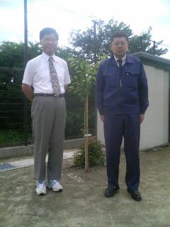 岩手県久慈市に来てます。