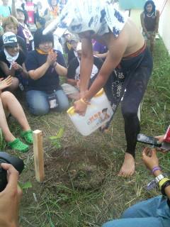 ライジングサン植樹祭