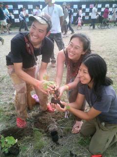 ライジングサン植樹祭その2