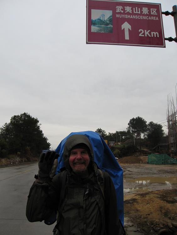 中国を歩くポールと木乃実さんのメッセージビデオ