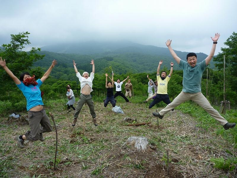 日本縦断の旅、折り返し地点は「本州のへそ」