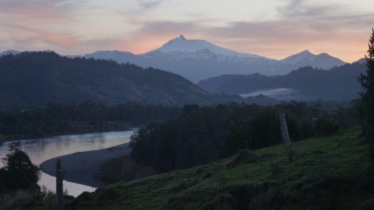 patagonia, Chile, ほんの一瞬のパノラマショー