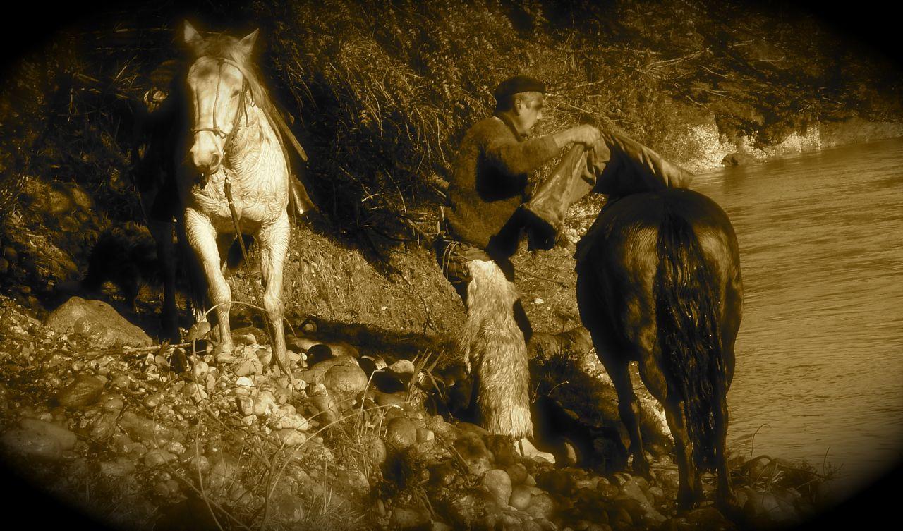 Patagonian cowboy!